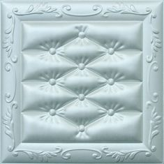 Carved Leather Decorative 3D Wall Panels Fire Resistant Embossed
