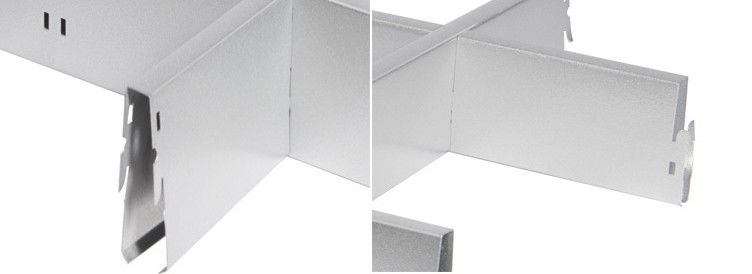 SGS ISO Approval Interior Aluminum Ceiling Grid Heat Insulation nhà cung cấp