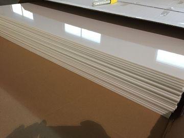 Trung Quốc Tấm trần bằng PVC trắng ngà Bảo vệ bóng bóng Tấm trần bằng nhựa 603mm x 1210mm nhà phân phối